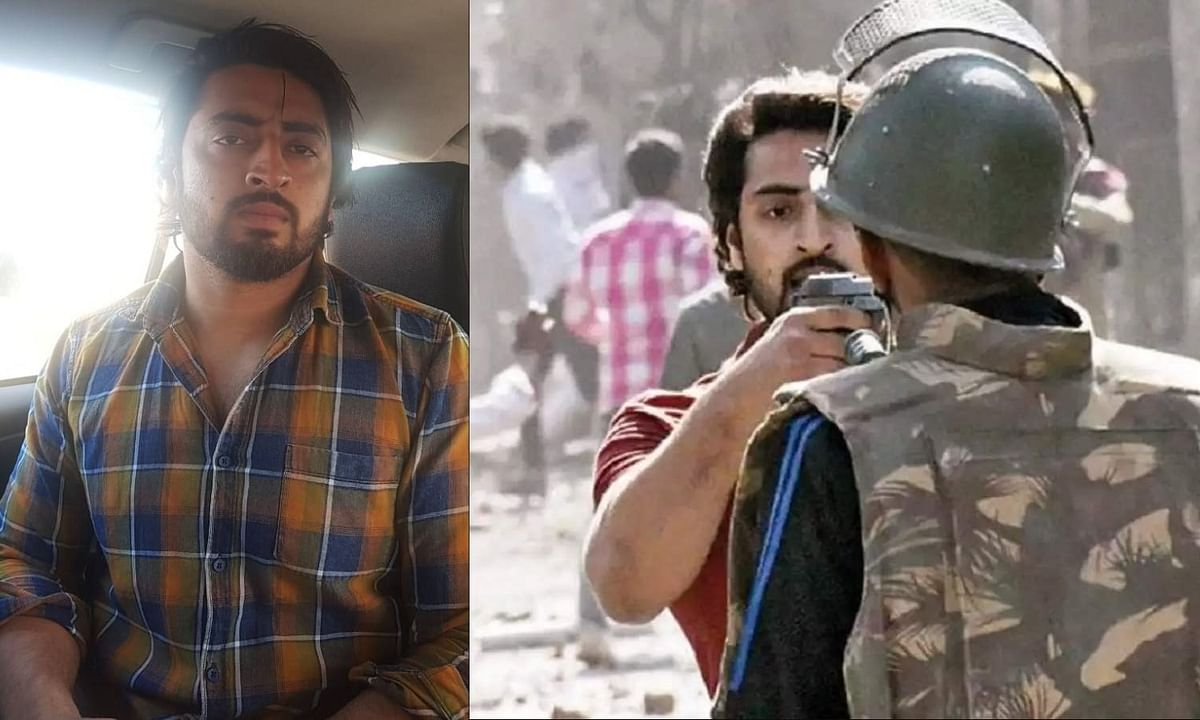 दिल्ली हिंसा में पुलिसकर्मी पर पिस्तौल तानने वाला शाहरुख गिरफ्तार।