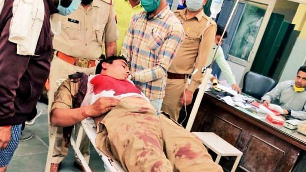 attack on bhopal police team