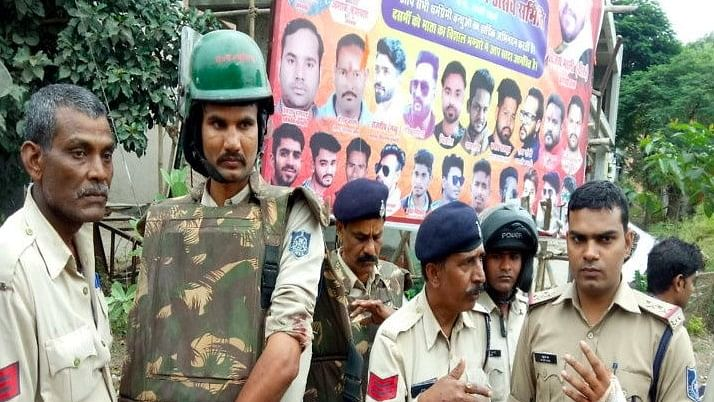 Attack on Police Team in Bhopal