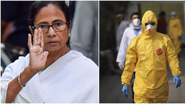 mamata banerjee objection on yellow colour ppe kit