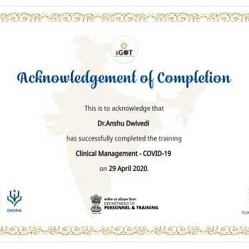 Covid 19 Training Certificate