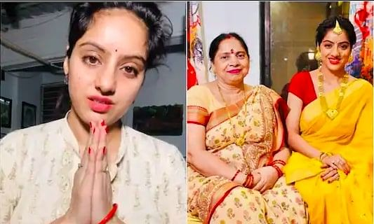 tv actress deepika singh mother corona positive
