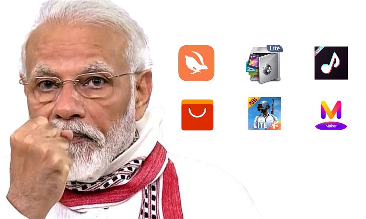 भारत सरकार ने उठाये सख्त कदम, टिकटॉक समेत 59 चीनी एप को किया प्रतिबंधित