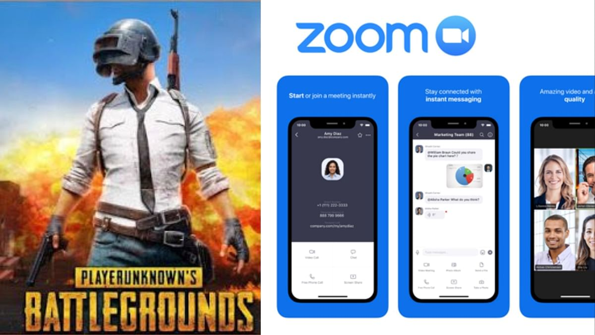 PUBG and ZOOM App