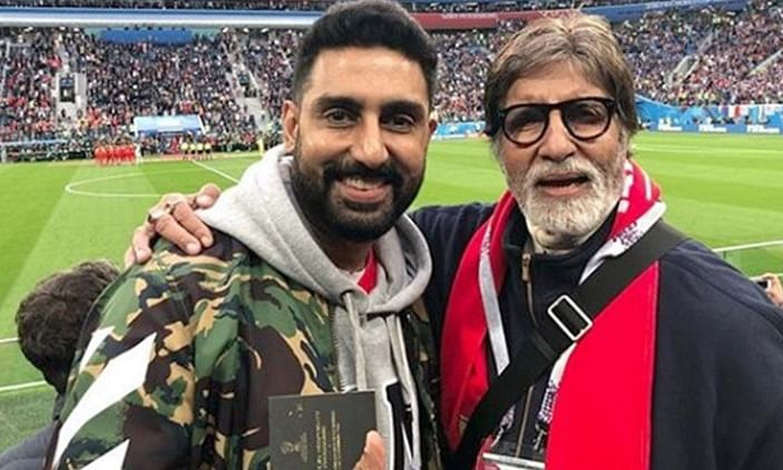 Amitabh and Abhishek found corona positive