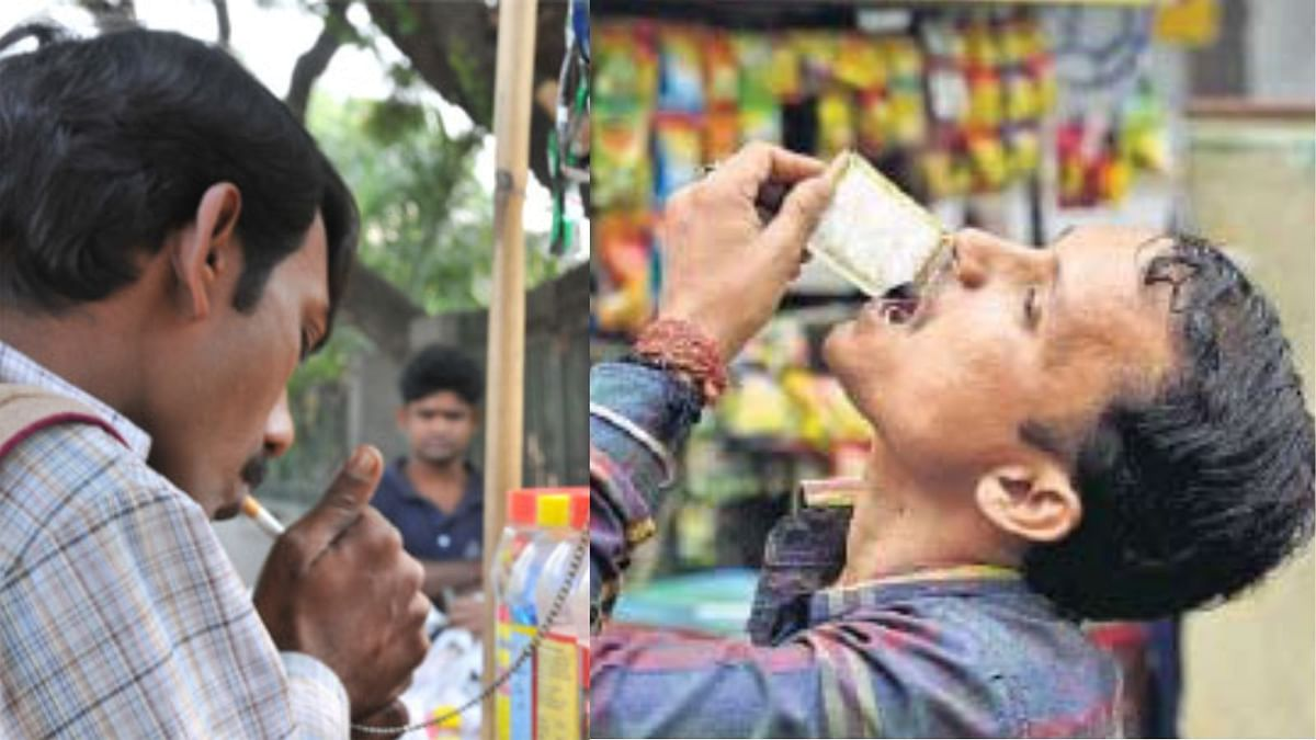 gutkha and cigarette consumption health side effects