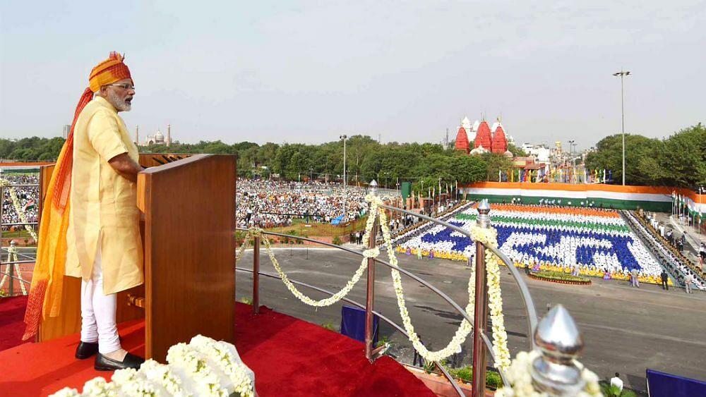 स्वतंत्रता दिवस के अवसर पर प्रधानमंत्री का भाषण इन बिंदुओं पर केंद्रित रहा