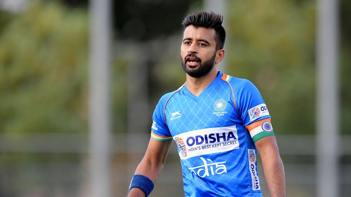 indian hockey captain manpreet singh covid positive