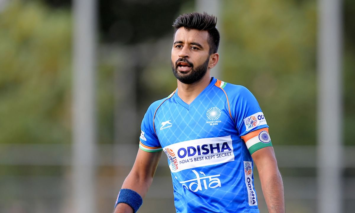 indian hockey captain manpreet singh covid positive