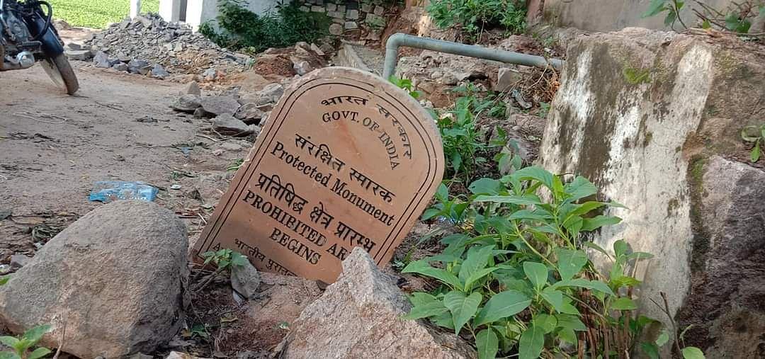 मदन सागर में हनुमान जी का मंदिर तोड़ा
