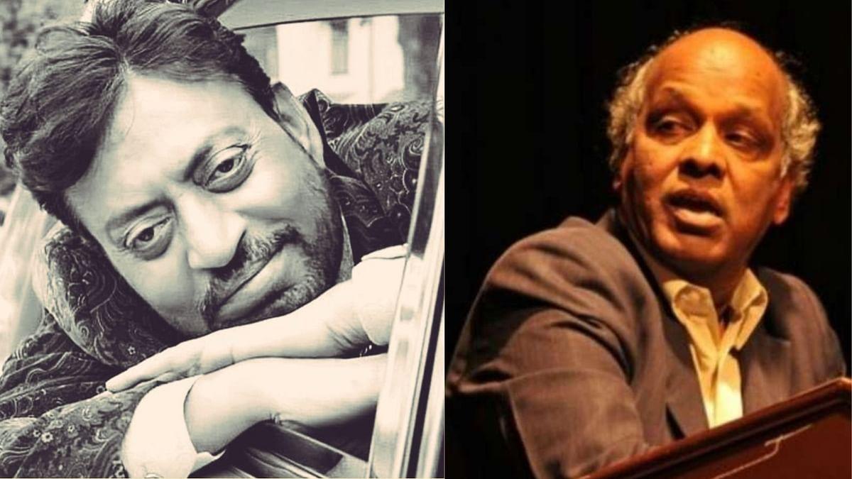 Rahat Indori and Irrfan Khan