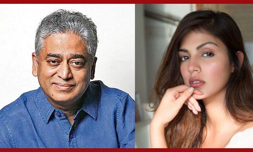 rhea chakraborty interview with rajdeep sardesai