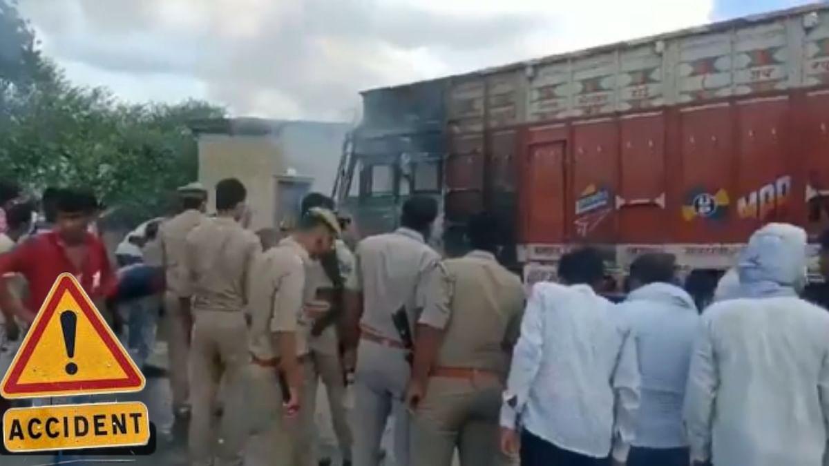बाँदा में थम नहीं रहा रफ्तार का कहर, ट्रक ने स्कूटी सवारों को रौंदा, मौके पर मौत