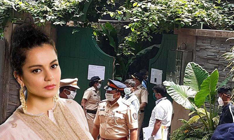 Kangana ranaut on BMC
