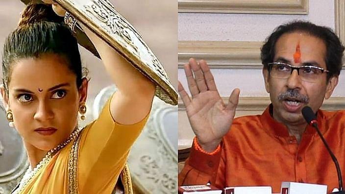 kangana vs uddhav thackeray