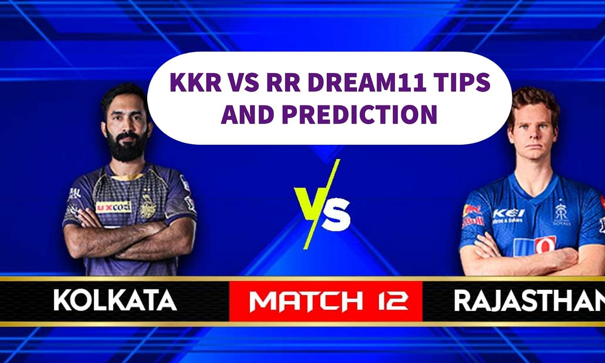 Dream11 IPL KKR vs Rajasthan Royals Prediction