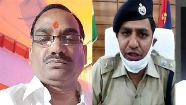 इन्द्रकांत त्रिपाठी हत्याकांड: शासन ने बड़ी कार्यवाही करते हुए दो पुलिसकर्मियों को किया बर्खास्त