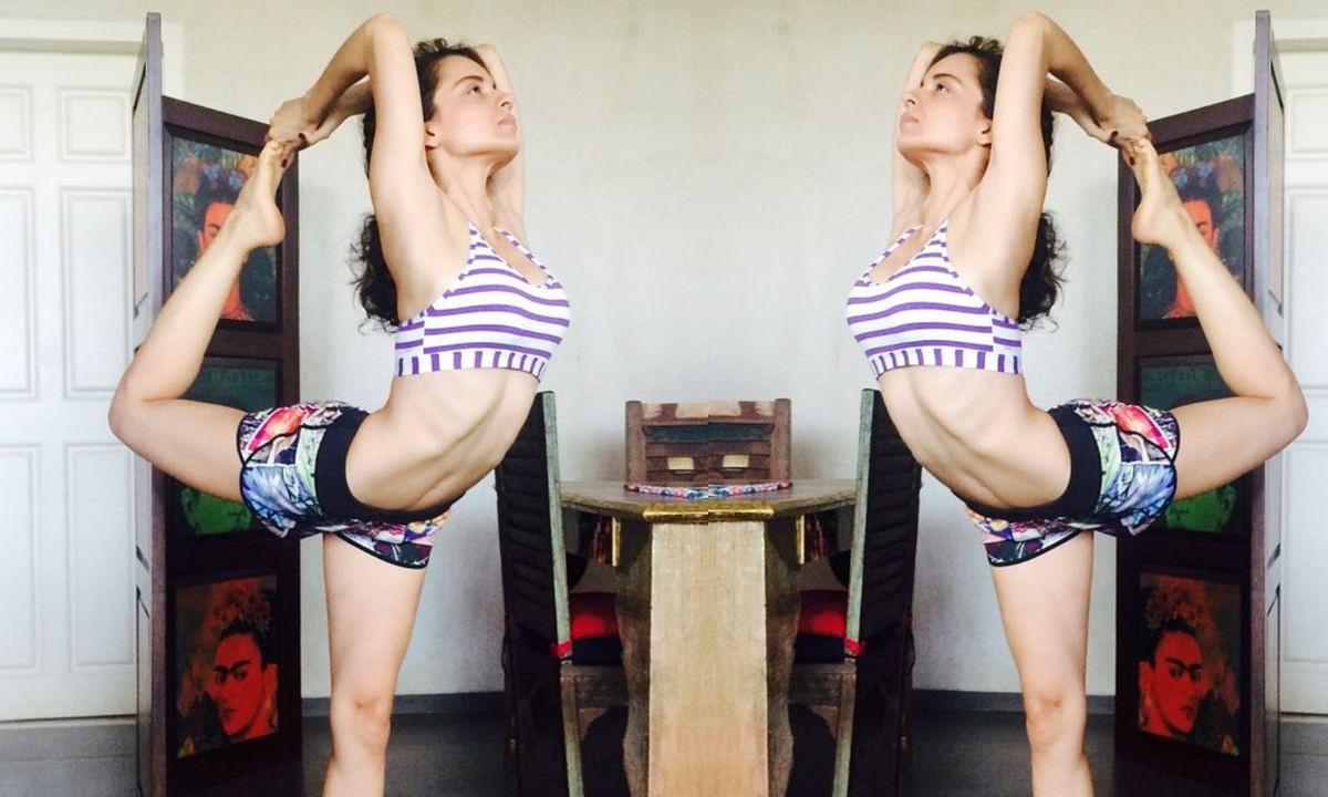 kangana ranaut weight loose training