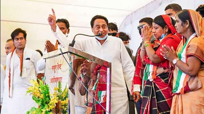 """कमलनाथ के बिगड़े बोल, विरोधी प्रत्यासी इमरती देवी को कहा """"आइटम"""""""
