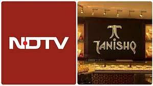गाँधी नगर के तनिष्क शोरूम पर हमला, NDTV ने चलाई फेक न्यूज़