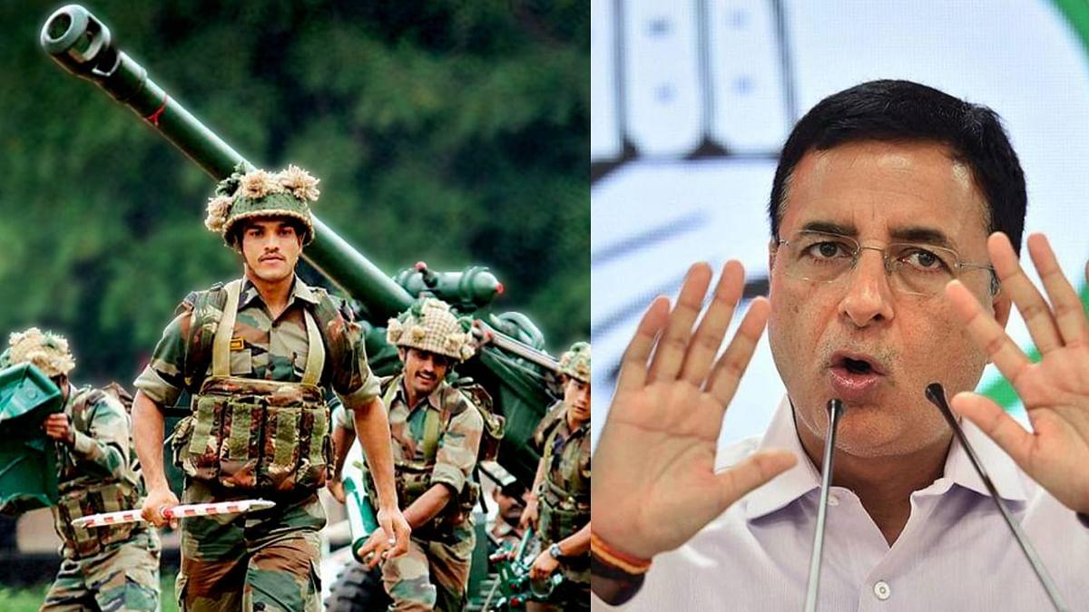 सेना में अफसरों की पेंशन कटौती को लेकर हुआ बवाल, कांग्रेस ने भाजपा पर बोला हमला