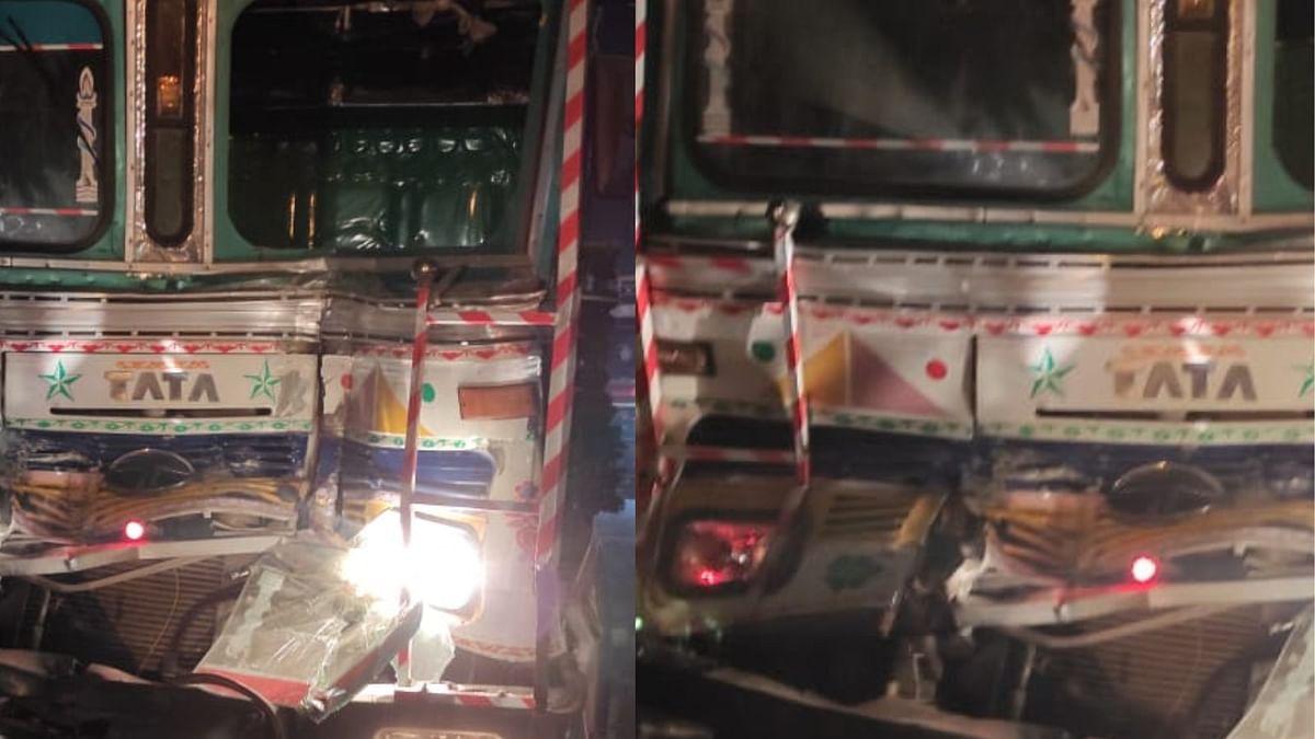 Mahoba Road Accident