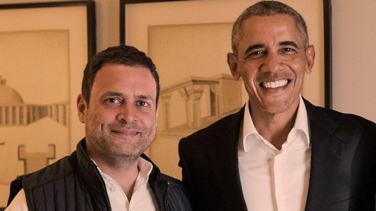 """राहुल गांधी के बारे में फूटेगा किताबी बम, बराक ओबामा ने राहुल के लिए कहा """"घबराए हुए छात्र"""""""