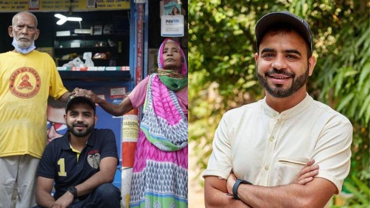 बाबा का ढाबा चलाने वाले कान्ता प्रसाद ने यूटूबर गौरव के खिलाफ एफआईआर दर्ज कराई