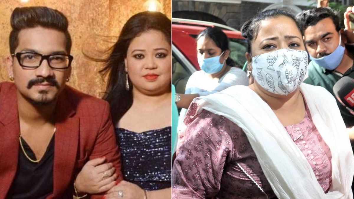 कॉमेडियन भारती सिंह के साथ हुआ मजाक, एनसीबी ने मारी रेड