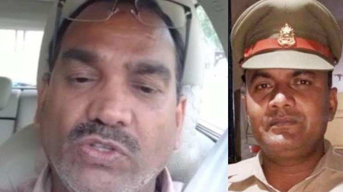 इन्द्रकांत त्रिपाठी मामले में कबरई थाना प्रभारी की हुई गिरफ़्तारी