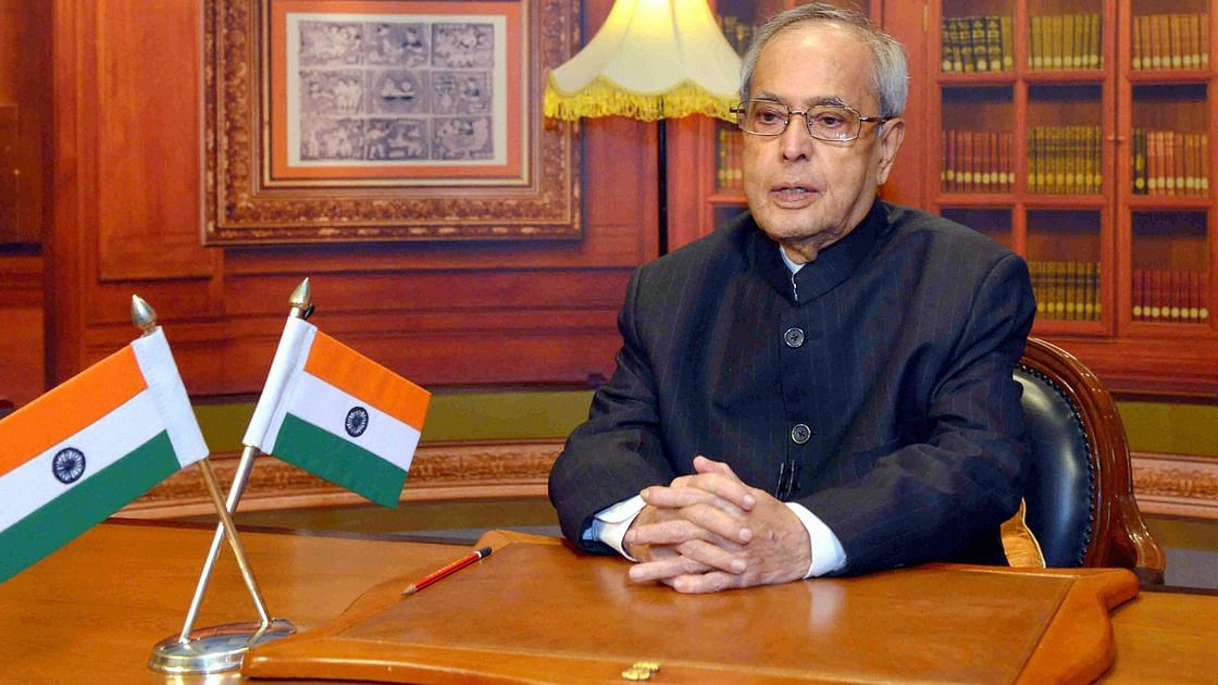pranab mukherjee book presidential year