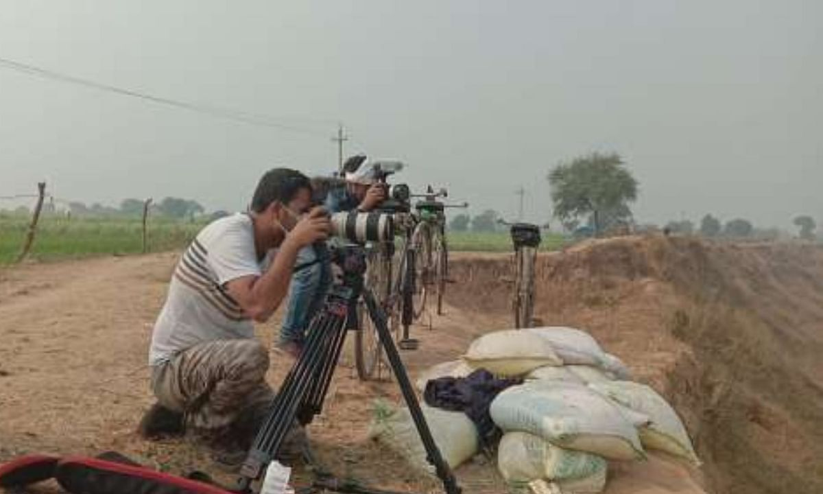 German and French Media Making Documentary in Banda