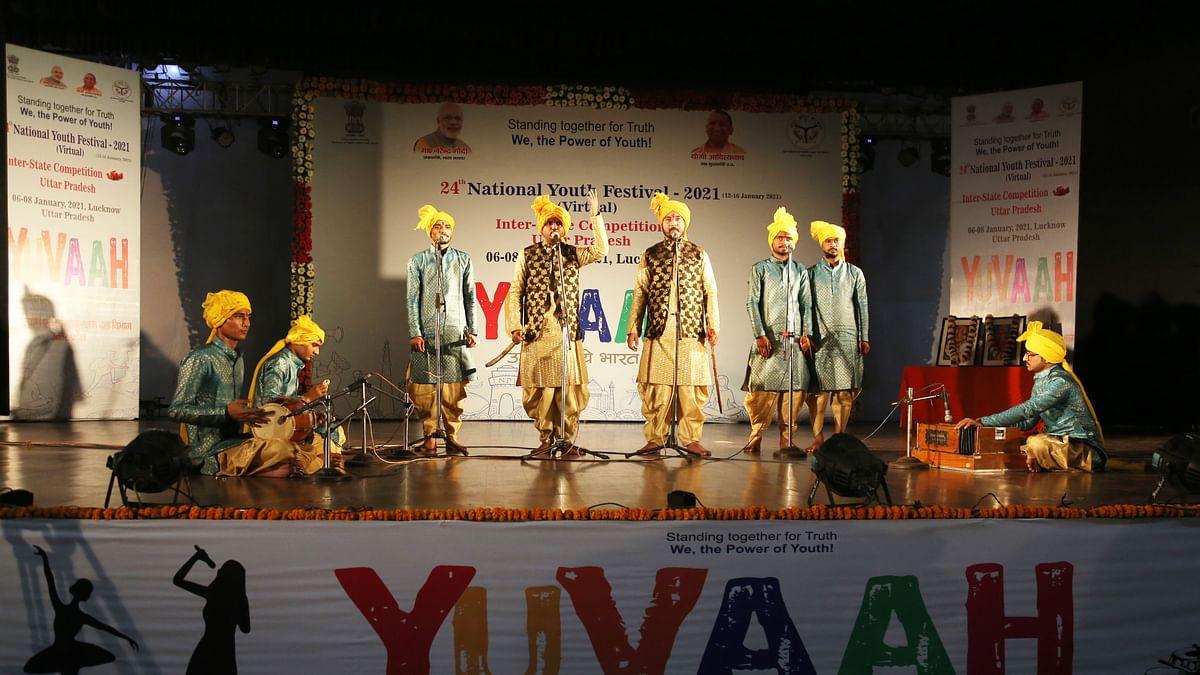 बुंदेली युवाओं ने लोकगीत गायन में पाया देश मे दूसरा स्थान
