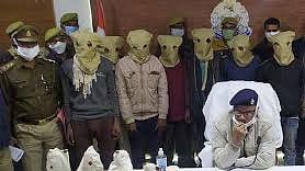 महोबा में चोरी गयी प्राचीन मूर्तियों को पुलिस ने किया बरामद, सात आरोपी धरे गए