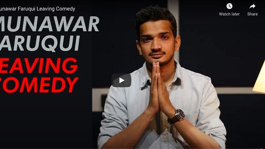 मुनव्वर ने सोशल मीडिया पर पर रोया दुखड़ा, कहा उस अपराध के लिए सजा भुगती जो किया ही नही