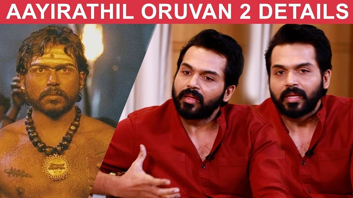 BREAKING: When will Aayirathil Oruvan 2 Start? - Karthi Opens   Dev