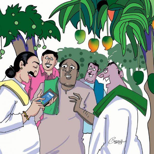 மண்புழு மன்னாரு: தாய்லாந்து செல்போனும் சல்லிசான மாந்தோப்பும்!