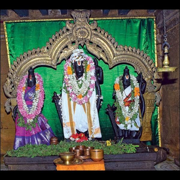 கல்யாண வரம் தருவார் `காட்சி தந்த ராமன்'