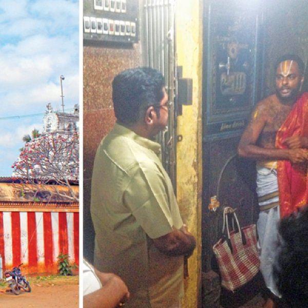 ஆகம விதியை மீறி... தினகரனுக்காகத் திறக்கப்பட்ட கோயில்!