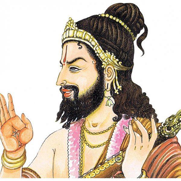 நாரதர் உலா... - வீரவசந்தராய மண்டபத்தில்...
