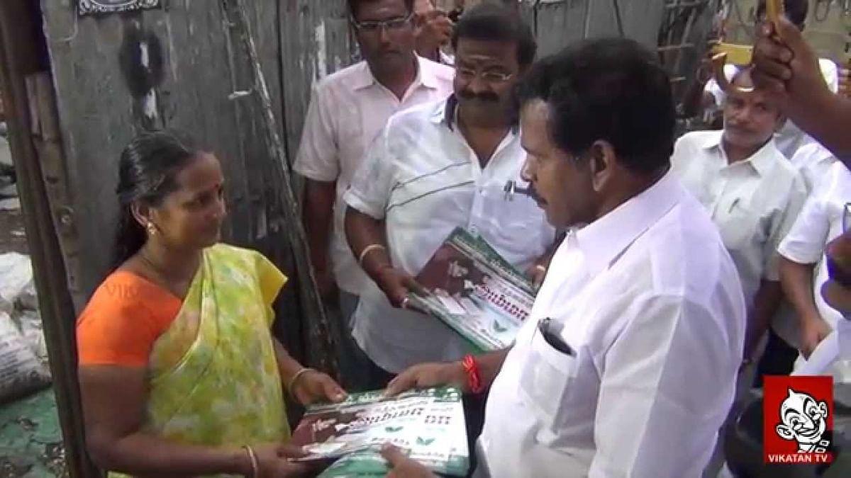 Vote for AMMA - Thoppu N.D. VENKATACHALAM | R.K.Nagar  Round Up