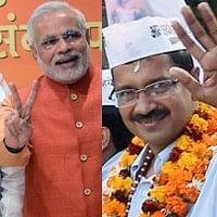 கங்கை பூஜை:  மோடிக்கு கெஜ்ரிவால் கேள்வி!