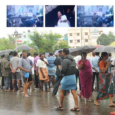 சென்னை ஆர்.கே.நகர் : முதல்வர் தொகுதியில் விரட்டப்பட்ட 3 மந்திரிகள்