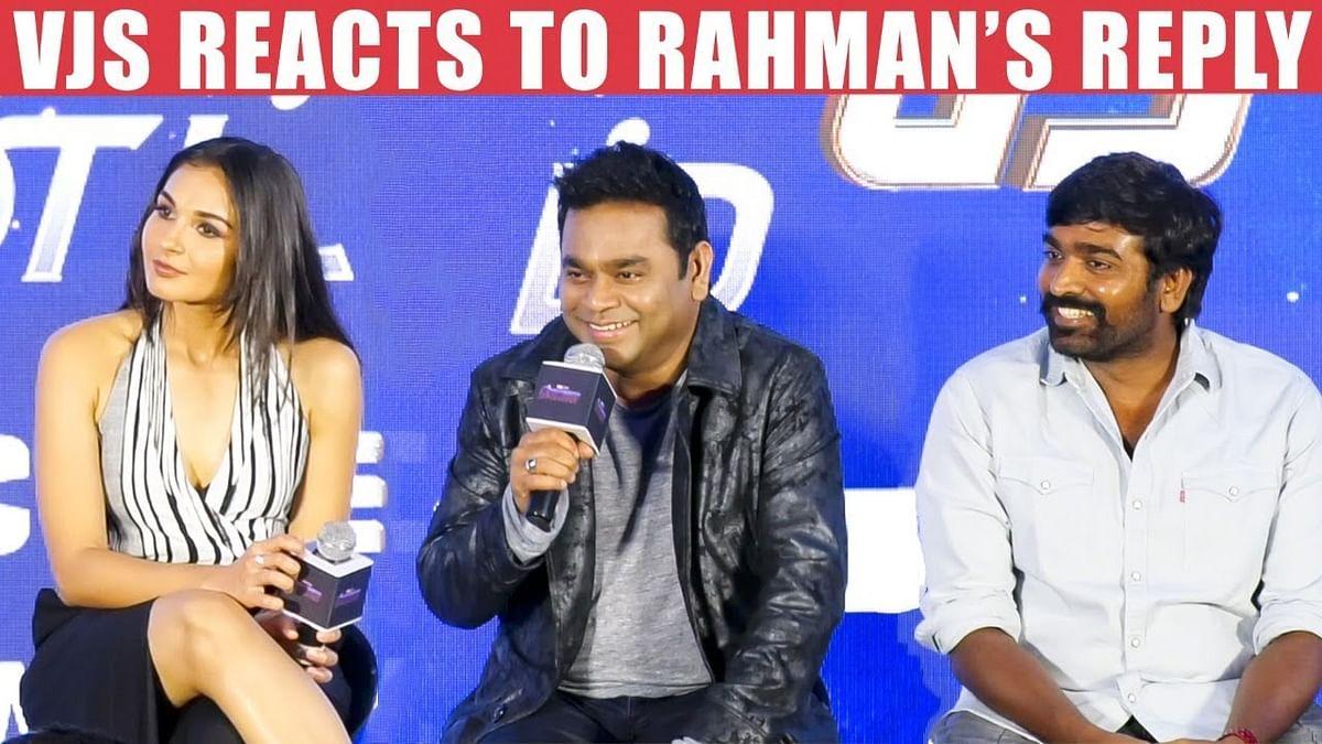 """I Was Afraid"" | Vijay Sethupathi, A R Rahman, Andrea, Murugadoss on Avengers End Game Tam"