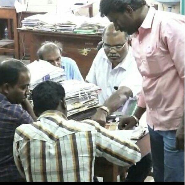 மாநகராட்சி அதிகாரியைச் சிக்கவைத்த ரூ.40,000 லஞ்சம்!
