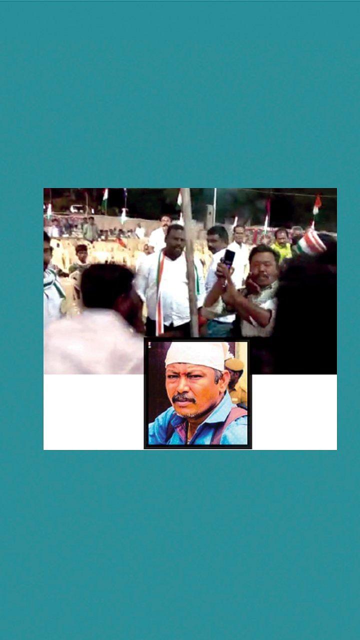ஜூ.வி புகைப்பட நிபுணரைத் தாக்கிய காங்கிரஸ் குண்டர்கள்!