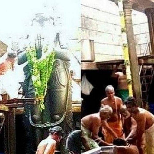 ''சல்லிக்காசுகூட எடுக்காமல் திருப்பி அளித்துவிட்டோம்!'' - இறந்த நாமக்கல் அர்ச்சகரின் சகோதரர்