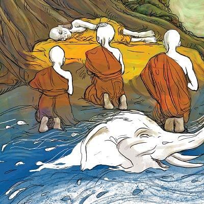 கி.மு. ஆறாம் நூற்றாண்டின் மழை பற்றிய சித்திரங்கள் - இளங்கோ கிருஷ்ணன்