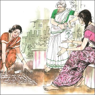 மனுஷி - 9 - கோலங்கள்