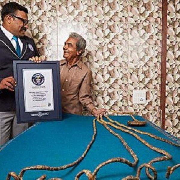66 ஆண்டுகளுக்குப் பிறகு நகங்களை வெட்டிய கின்னஸ் சாதனையாளர்!